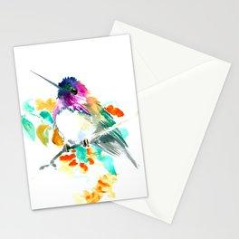 Cute Little Hummingbird Stationery Cards