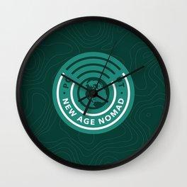 Basic Nomad Crest Wall Clock
