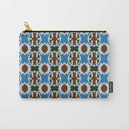 Patta Pattern Carry-All Pouch