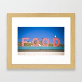 Food! Framed Art Print