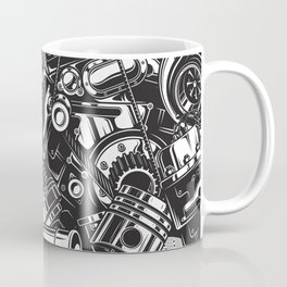 Automobile car parts pattern Coffee Mug