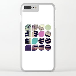 Cold Comfort Collage — Bunker Clear iPhone Case