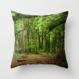Glade of my Dreams  Throw Pillow