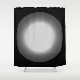 The light from beyond Shower Curtain