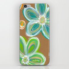 Funky Flowers iPhone & iPod Skin