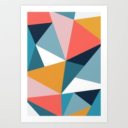Modern Geometric 35 Art Print