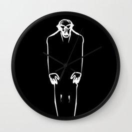 Classic Nosferatu Movie Poster Wall Clock