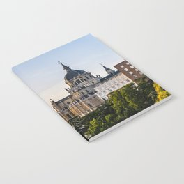 Almudena cathedral of Madrid Notebook