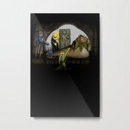 Kermit the Hut Metal Print