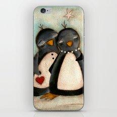 Penguin love -  iPhone & iPod Skin