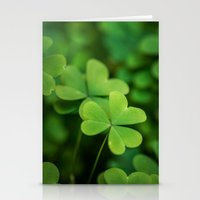 clover Stationery Cards featuring Clover by Michelle McConnell