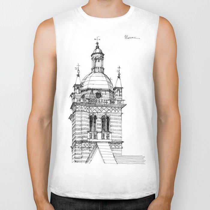 Campanile della  cattedrale di Genova Biker Tank