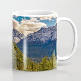 Termination Dust - Glenn Highway, Alaska Coffee Mug