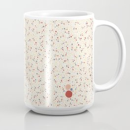 Light Background Dot Color Design Coffee Mug