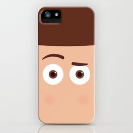 PIXAR CHARACTER POSTER - Sheriff Woody - Toy Story iPhone Case