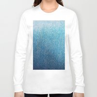 fabric Long Sleeve T-shirts featuring Fabric by Anna Berthier