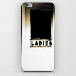 A real Lady  iPhone Skin