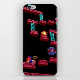 Inside Donkey Kong stage 3 iPhone Skin