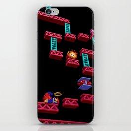 Inside Donkey Kong stage 3 iPhone Skin