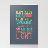 happiness Stationery Cards featuring Happiness by Dorothy Leigh