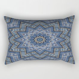Jeans star kaleidoscope 3D Rectangular Pillow