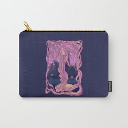 The Girl with the Magic Hair Carry-All Pouch