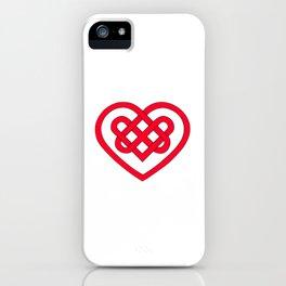 Celtic Heart (Light) iPhone Case
