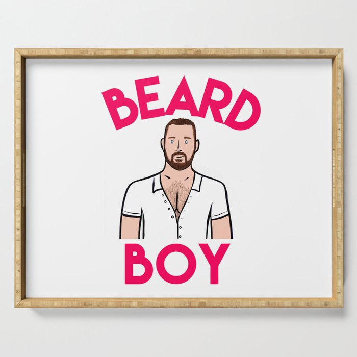 Beard Boy: Graeme Serving Tray