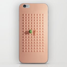 We are becoming a habit iPhone Skin