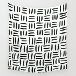 Three Stripes Pattern Wall Tapestry