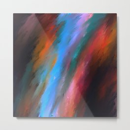 Chakra Karma Art Deco Abstract// Art Print Metal Print