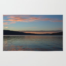 Lake Coeur D'Alene Rug