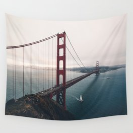 Golden Gate Bridge - San Francisco, CA Wall Tapestry