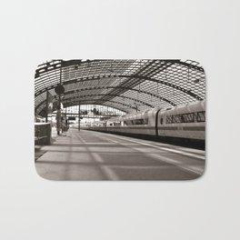 Train-Station of Berlin Bath Mat
