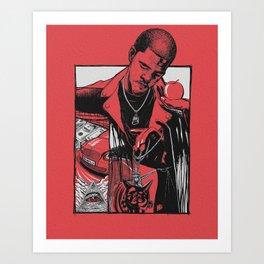 The Sinner Art Print