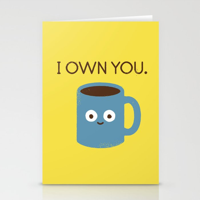 Coffee Talk Stationery Cards