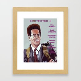 Ghostbusters II Framed Art Print