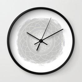 SAHASRARA Boho mandala Wall Clock