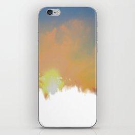 Sunset Lake Murray, La Mesa, California (Copyright) iPhone Skin