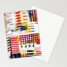 Overlapping Colors Stationery Cards