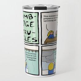 Cambridge struggles: Weather Travel Mug