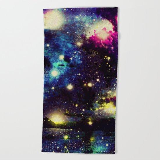 space traffic  Beach Towel