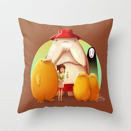Studio Ghibli - Radish Spirit Throw Pillow