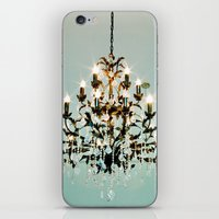 chandelier iPhone & iPod Skins featuring Chandelier. by heather cherie