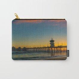 September Skies Over Huntington Beach Pier Carry-All Pouch