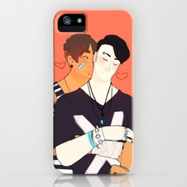BadBoys in their free time iPhone Case