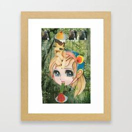 Sweet Atenea Framed Art Print