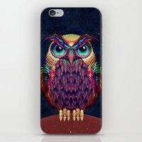 owl iPhone & iPod Skins featuring OWL 2 by Ali GULEC