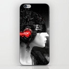 GIRL-MUSIC-ART iPhone Skin