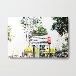 places Metal Print